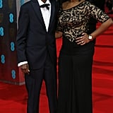 Barkhad Abdi at the 2014 BAFTA Awards.