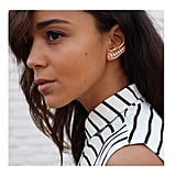 "The ""Row of Triangles"" Ear Cuff"