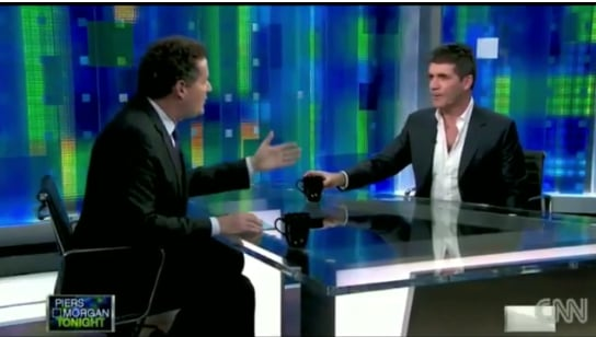 Video of Simon Cowell Talking American Idol on Piers Morgan 2011-03-11 03:05:00