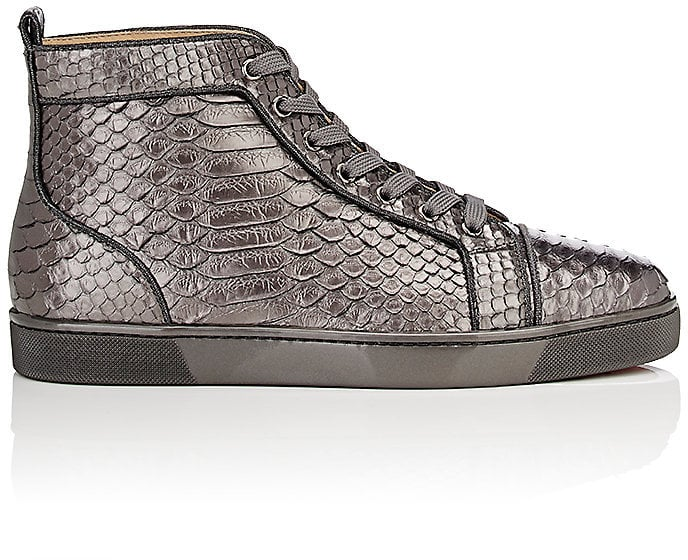 f8e06a5e502 We only have one word for these shiny Christian Louboutin Python ...