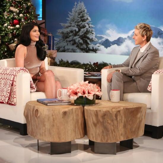 Kylie Jenner on Ellen November 2015
