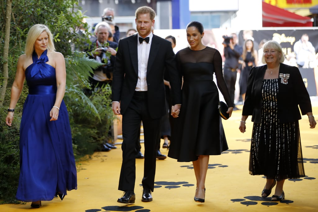Meghan Markle Prince Harry Lion King Premiere Pictures 2019