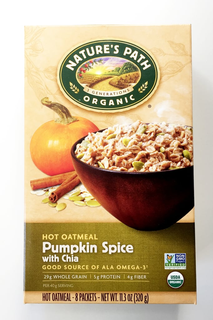 Nature's Path Pumpkin Spice Hot Oatmeal With Chia