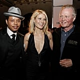 Gwyneth was flanked by Terrence Howard and Jon Voight at the LA premiere of Iron Man in April 2008.