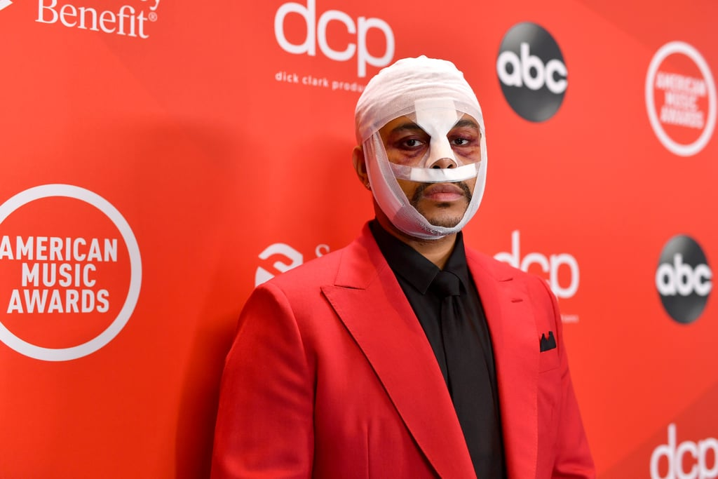 The Weeknd's Face Bandages in 2020