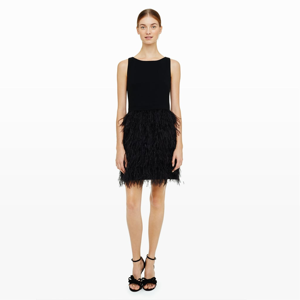 ddbe1e8db360 Club Monaco Lenoria Feather Dress ( 369)