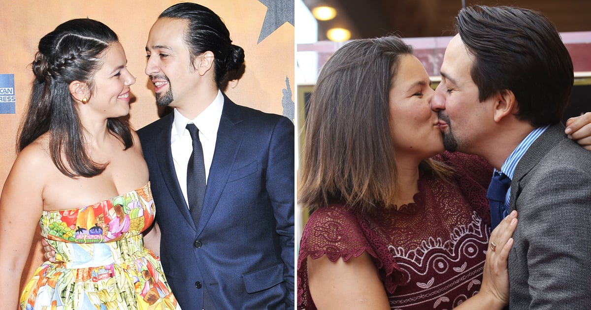 Lin-Manuel Miranda Crushed on His Wife in High School, but They Didn't Date Until Later
