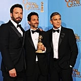 Ben Affleck, Grant Heslov, and George Clooney