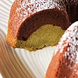 Chocolate Matcha Green Tea Mochi Bundt Cake