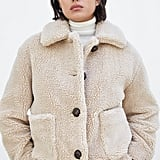 Zara Fleece Coat