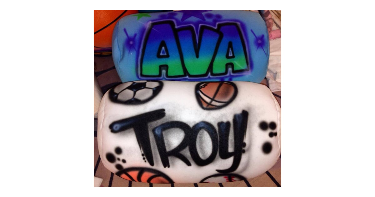 Custom Squishy Pillows : Airbrushed Suishy Pillows Personalized Kids  Holiday Gifts POPSUGAR Moms Photo 17