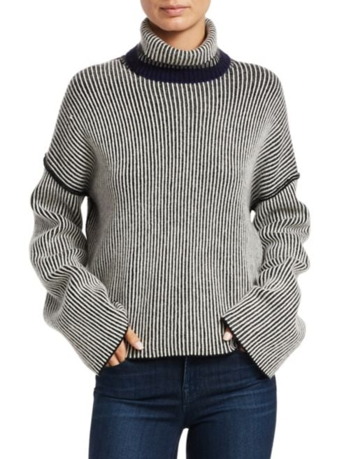 Theory Oversized Cashmere Sweater