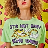 Forever 21 Cheetos Graphic Cropped Tee
