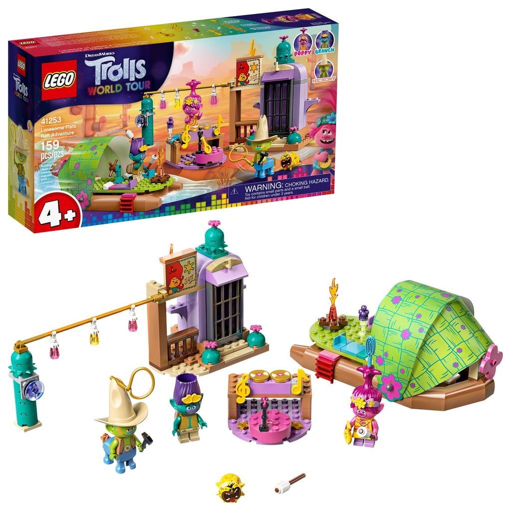 Lego Trolls World Tour Lonesome Flats Raft Adventure Set