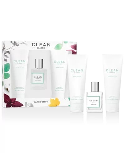 Clean Fragrance Classic Warm Cotton Gift Set