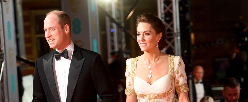 Kate Middleton Rewears Alexander McQueen to 2020 BAFTAs