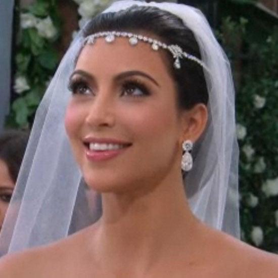 How to Get Kim Kardashian's Wedding Makeup