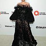 Alexa Demie at the 2020 Elton John AIDS Foundation Academy Oscars Party