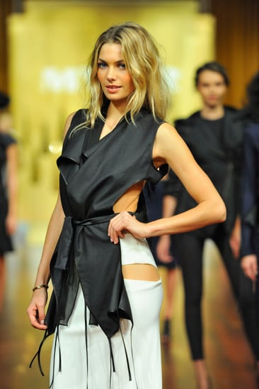 Jennifer Hawkins and Jessica Hart Hit the Runway for the Myer 2012 Autumn Winter Collection Fashion Show: See All the Pictures