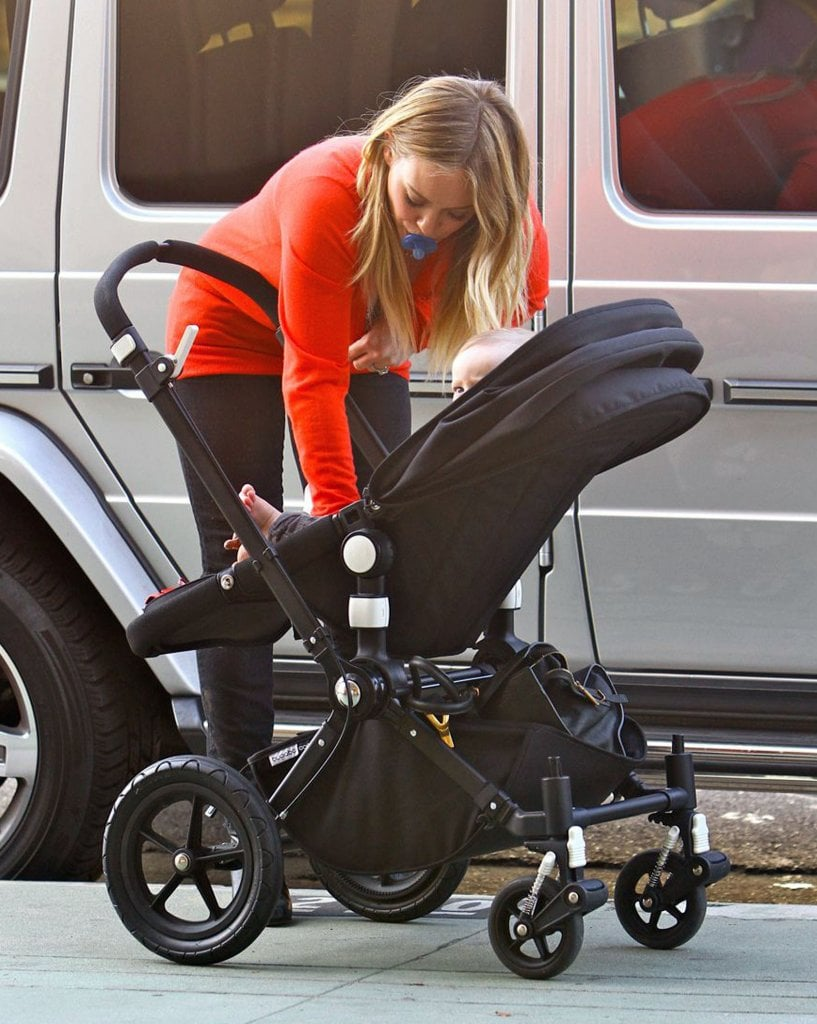 Hilary Duff was a busy mom in Studio City.