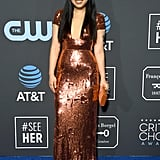 Awkwafina at the 2019 Critics' Choice Awards