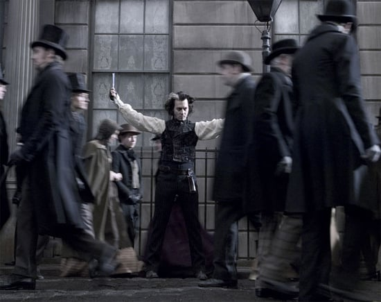 Gallery of images from Sweeney Todd, nominated for Best Art Direction