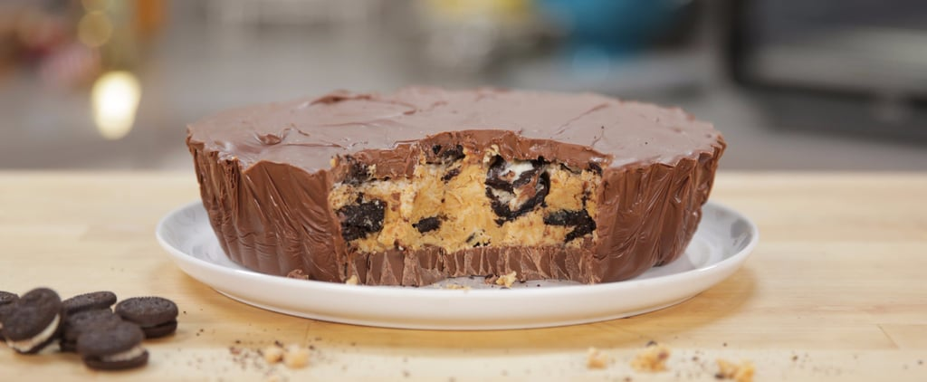 Your Favorite Treats Collide in This Supersize Oreo-Stuffed Reese's