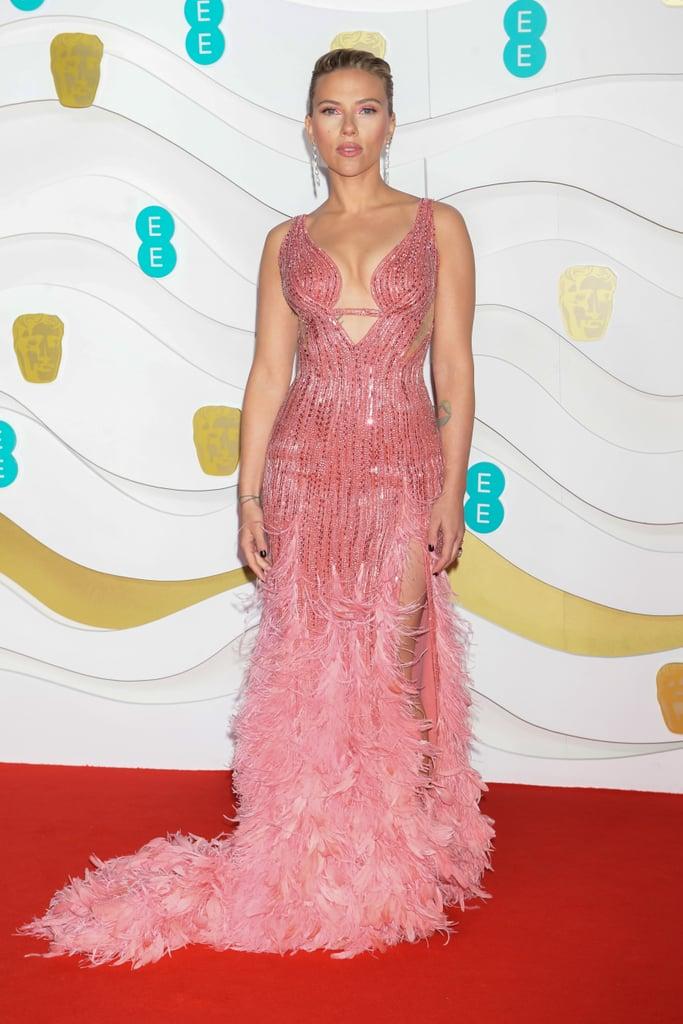 Scarlett Johansson at the 2020 British Academy Film Awards