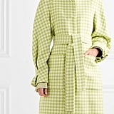 Stine Goya Celeste Houndstooth Wool-Blend Coat