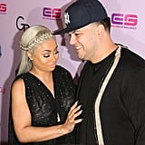 Blac Chyna and Rob Kardashian on the Red Carpet May 2016