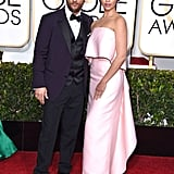 These two really brought the glamour at the Golden Globes, where Camila stunned in a Monique Lhuillier gown, complimenting her husband's Dolce & Gabbana tux. Those sexy smoulders though? Those are all their own.