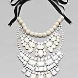 I'm not usually one for over-the-top necklaces, but this Malene Birger Beaded Bib Necklace ($260) is so understated chic.
