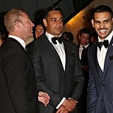 Michael Crocker, John Sutton and Greg Inglis