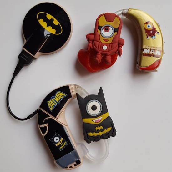 Mom Creates Superhero Hearing Aids For Son