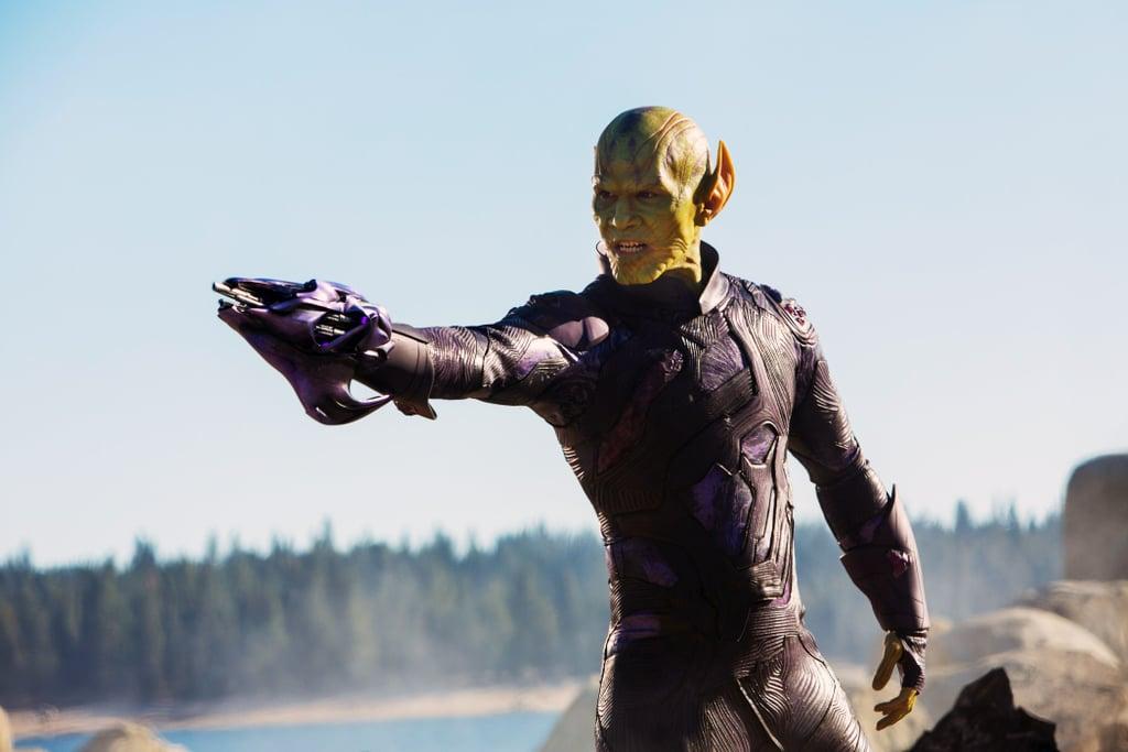 Who Plays Talos in Captain Marvel?