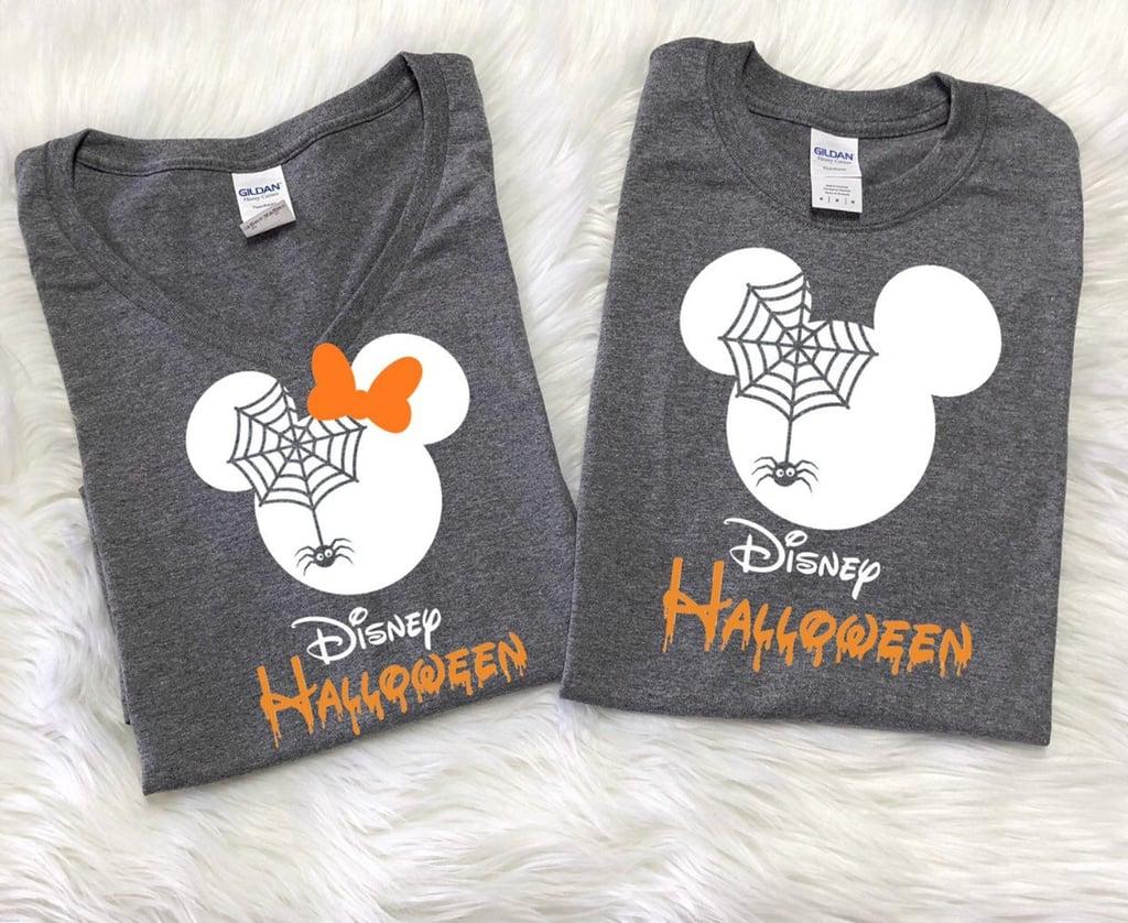 Disney-Inspired Spider Shirt