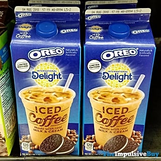 Oreo Iced Coffee by International Delight