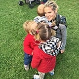 Elsa Pataky With India, Sasha, and Tristan
