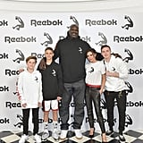 Shaq Celebrated With Victoria's Whole Family