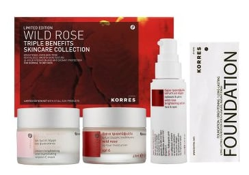 Monday Giveaway! Korres Wild Rose Triple Benefits Skincare Collection