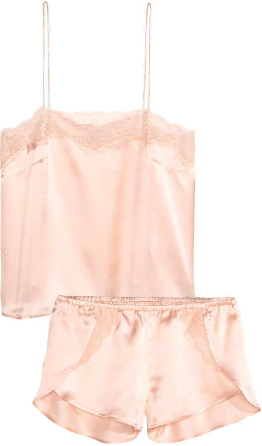H&M Silk Pajamas ($70)