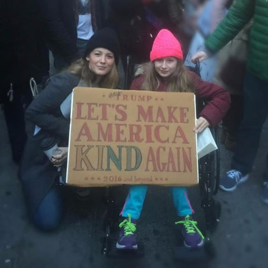Blake Lively Instagram Photo at the Women's March Jan. 2017