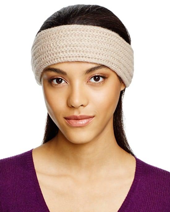 Cashmere Ribbed Headband