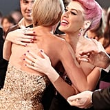 Nov. 20, 2011: Taylor and Katy Hug It Out