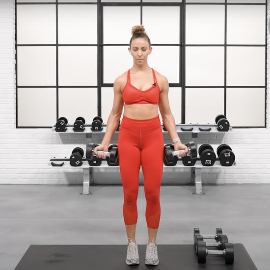 Back and Biceps Dumbbell Workout From Sydney Cummings