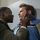 Derek Luke and Justin Prentice as Mr. Porter and Bryce