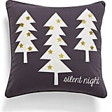 'Silent Night Decorative Pillow ($33, originally $44)