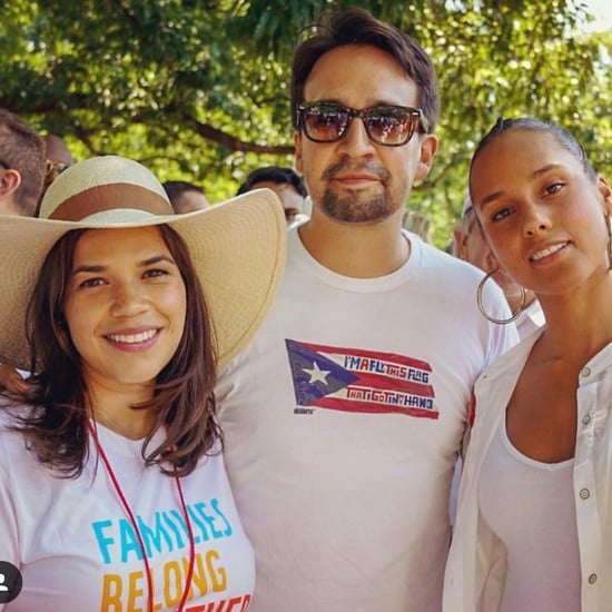 Celebrities at Families Belong Together March 2018