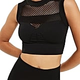 Ivy Park Women's Net Crop Top