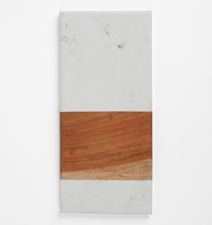 Rejuvenation Marble & Wood Board ($49)